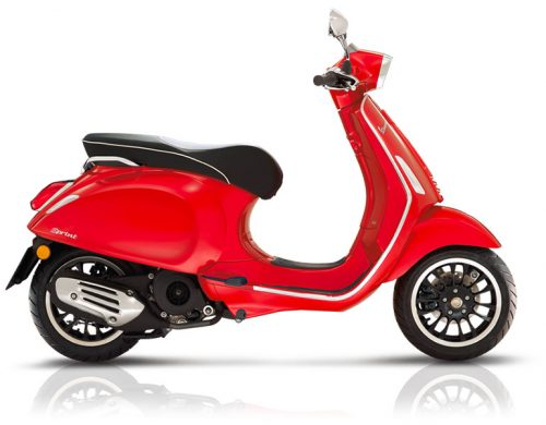 Vespa-sprint-125-rouge